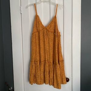 Orange ditzy flower dress 🌼🍊
